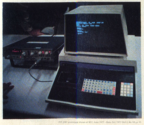PET-2001-prototype-NCC-June-1977