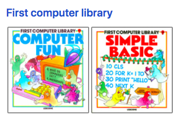 Usborne-First-Computer-Library